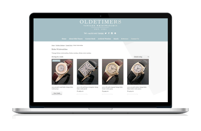Web Design Portfolio - Ecommerce